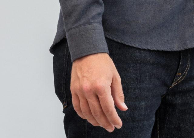 shirt cuff fit