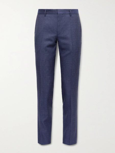 hugo boss blue dress pants