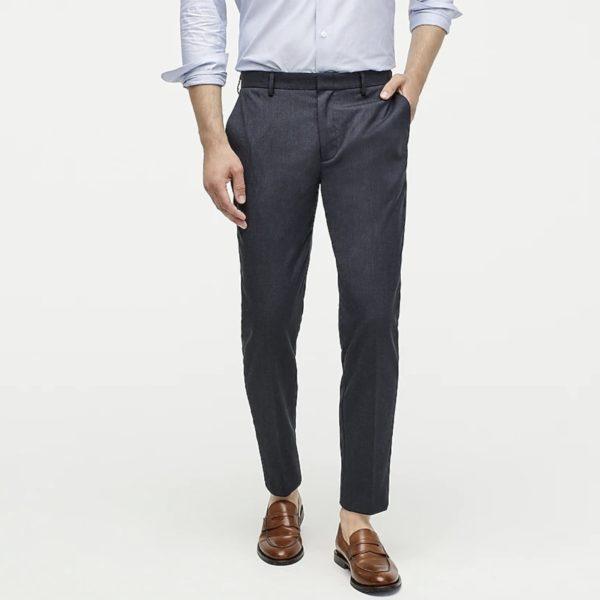 jcrew oxford slim pants for men