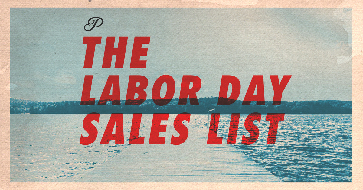 The Labor Day Sales List