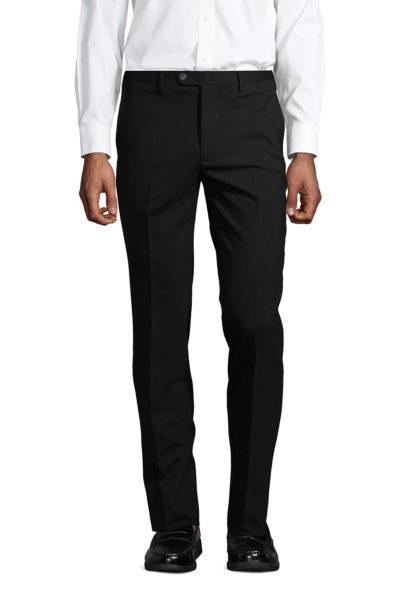 lands end slim wool dress pants for men