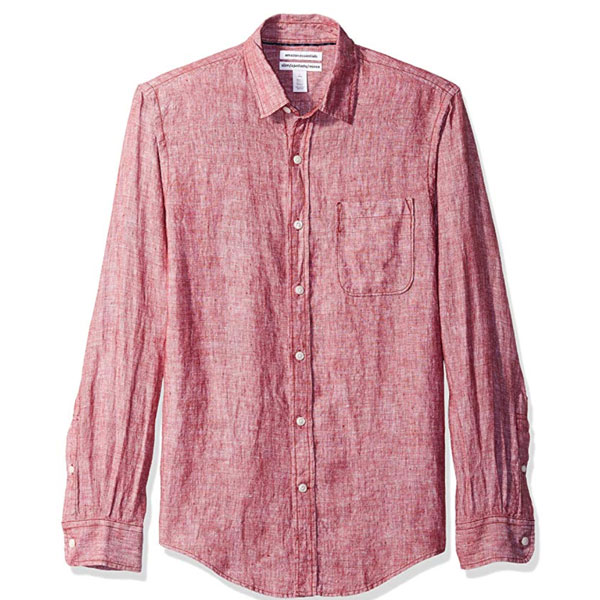 amazon essentials linen shirt