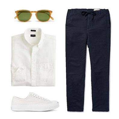 men starter outfit
