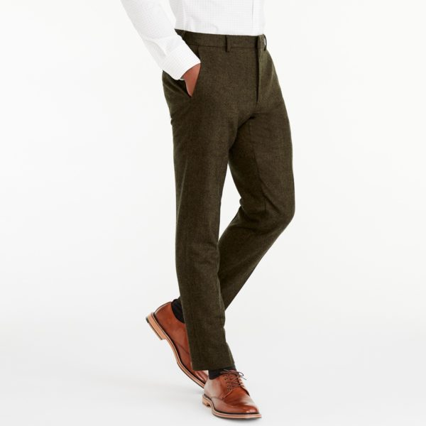 Slim fit Thompson suit pant in Donegal wool