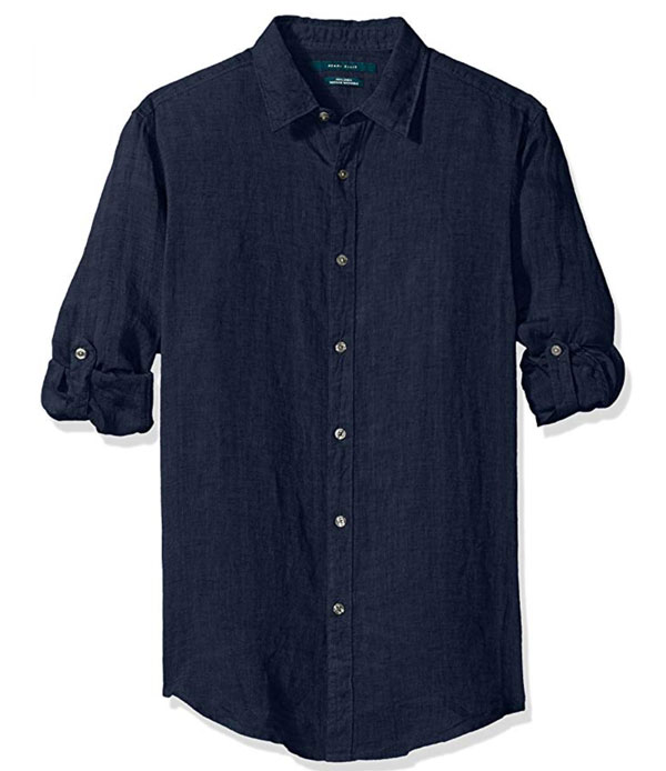 Perry ellis linen shirt