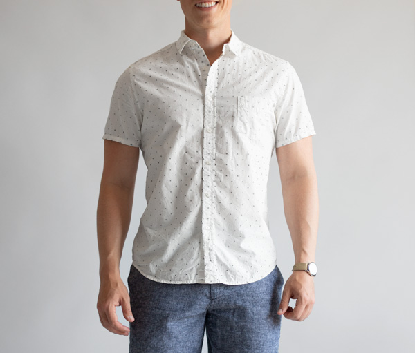 short sleeve shirt fit