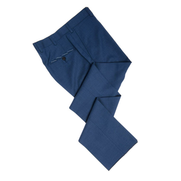spier and mackay medium blue heather dress pants