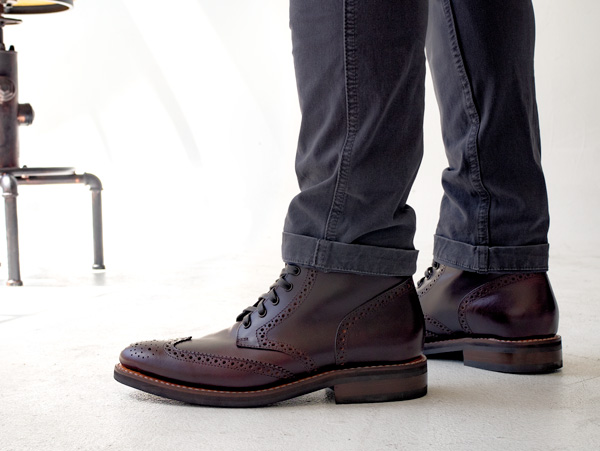 Thursday Boots wingtip boot