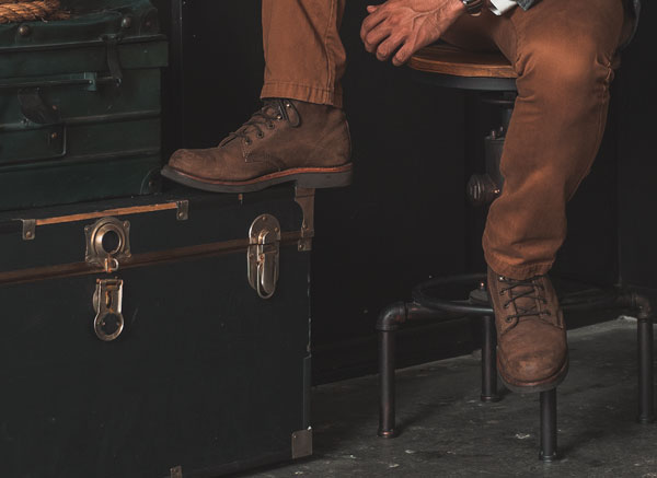chippewa boots with chinos