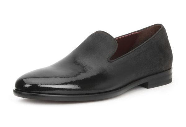 Men's Picasso Damask-Velvet Loafers