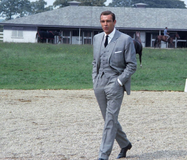 sean connery glen check goldfinger