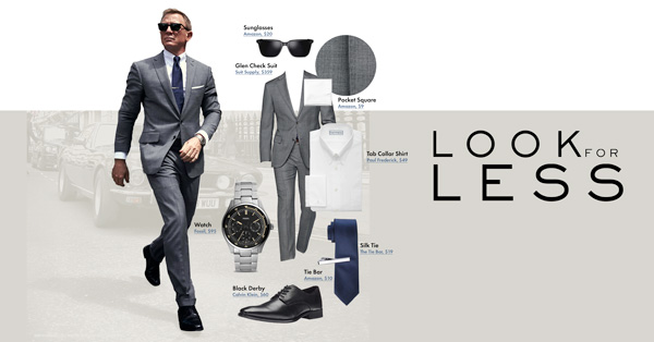 Look For Less: Daniel Craig's Suit From No Time To Die