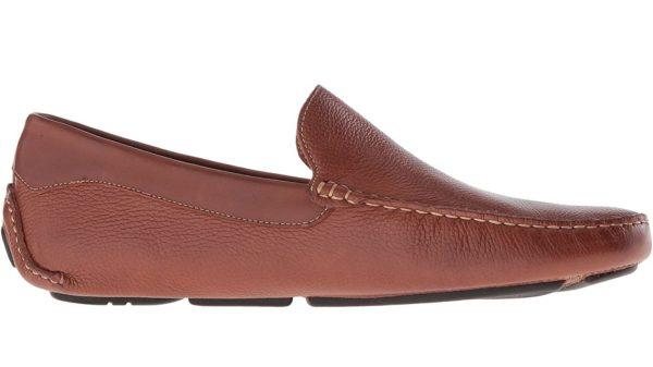 massimo brown venetian loafer shoe