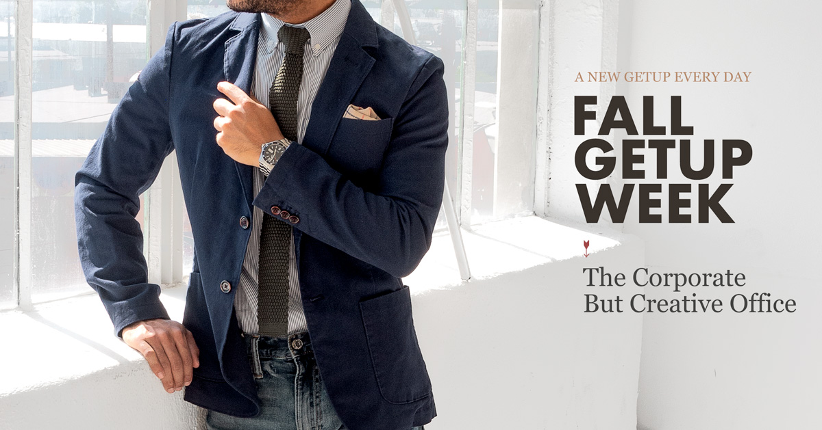 Fall Getup Week: The Corporate But Creative Office