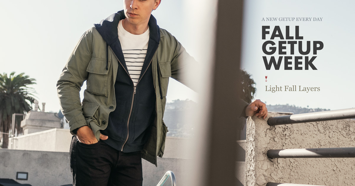 Fall Getup Week: Light Fall Layers + Vote for Your Favorite Outfit from This Week