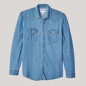 amazon denim shirt