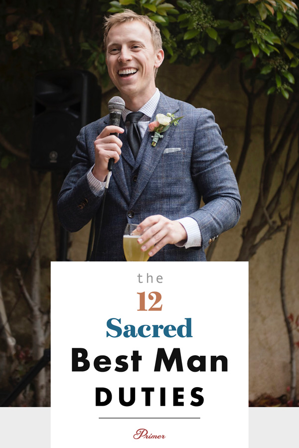 12 Sacred Best Man Duties and Responsibilities