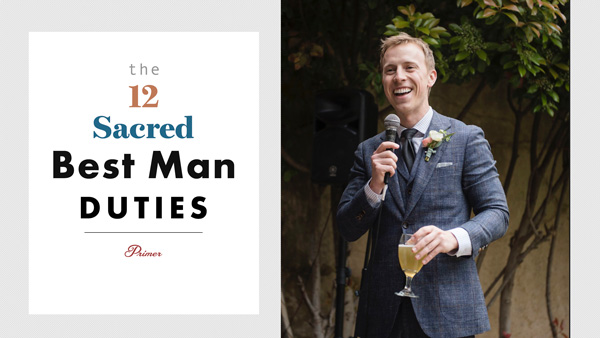 The 12 Sacred Best Man Duties – A Complete Guide