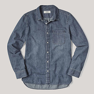 buck mason denim shirt