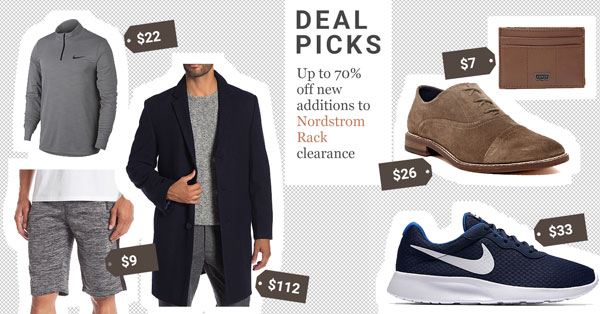 Up to 70% Off on New Additions to Nordstrom Rack Clearance: 20 Deal Picks