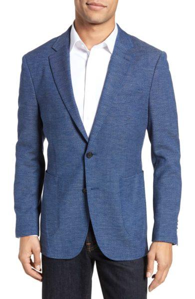 fife wool blend blazer