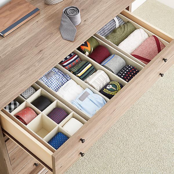 linen drawer organizers