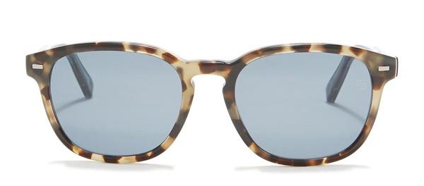 Ermenegildo Zegna 52mm square sunglasses
