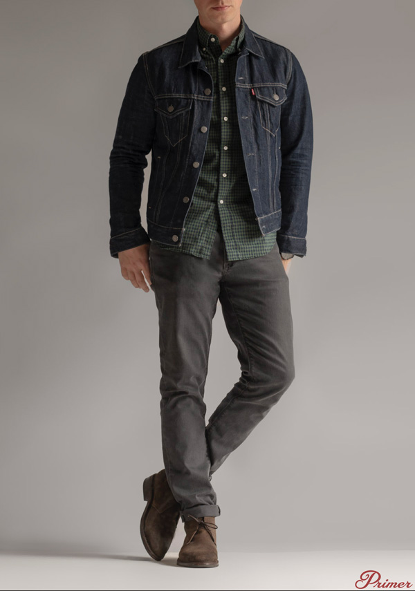 suede chukka boots outfit men