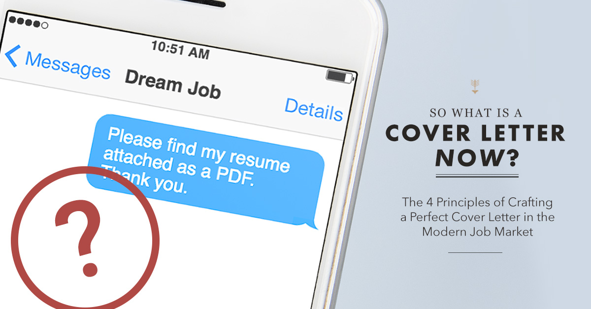 What Is A Cover Letter in 2019?