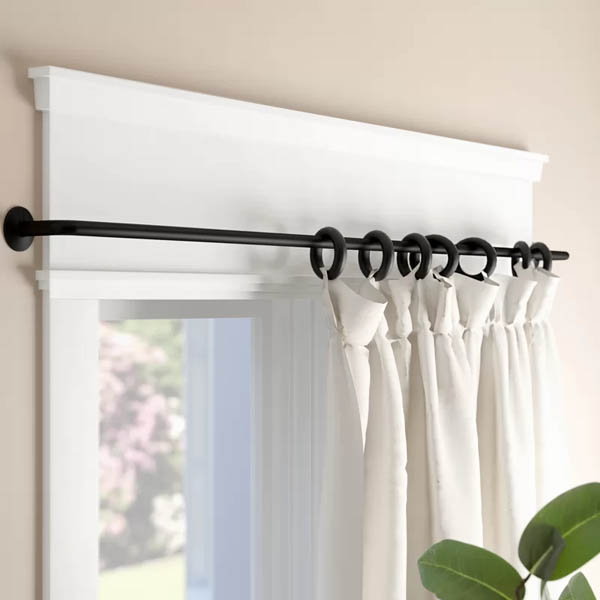 home upgrade under 150 balfour curtain rod set