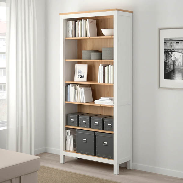 hemnes ikea bookcase home upgrade under 150
