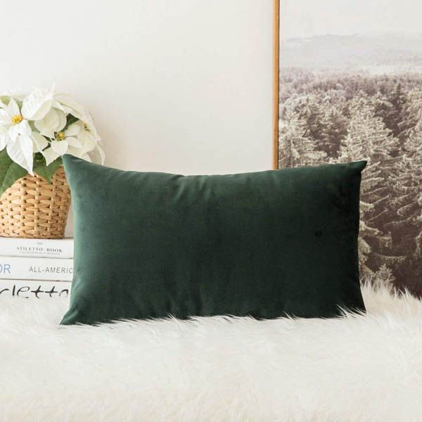 MIULEE velvet pillow cover home upgrade under 150