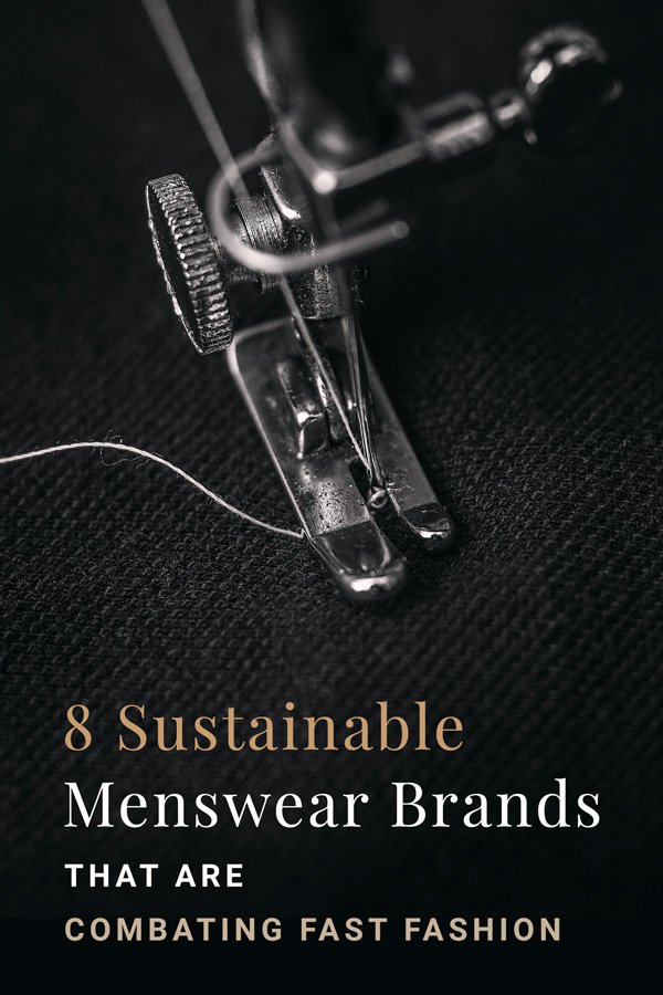 sustainable men's clothing brands