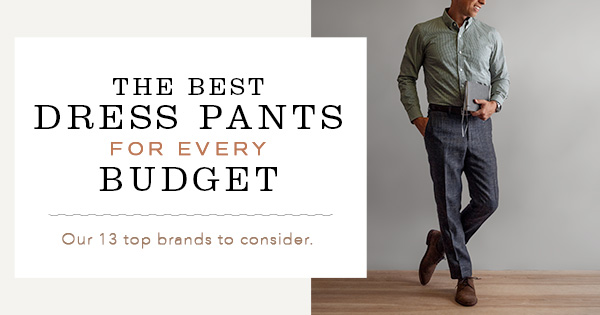 Best Men Dress Pants Feature