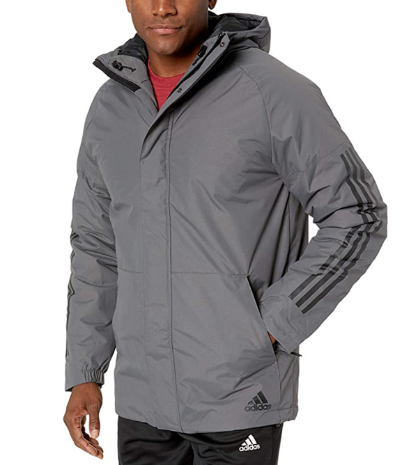 jaqueta xplórica cinza adidas