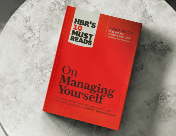 on-managing-yourself-book-holiday-self-development-tips
