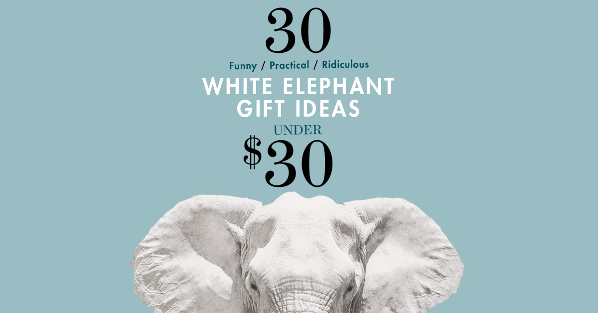 How To Win At Life — Or At Least At The Office Gift Exchange: 30 Under $30