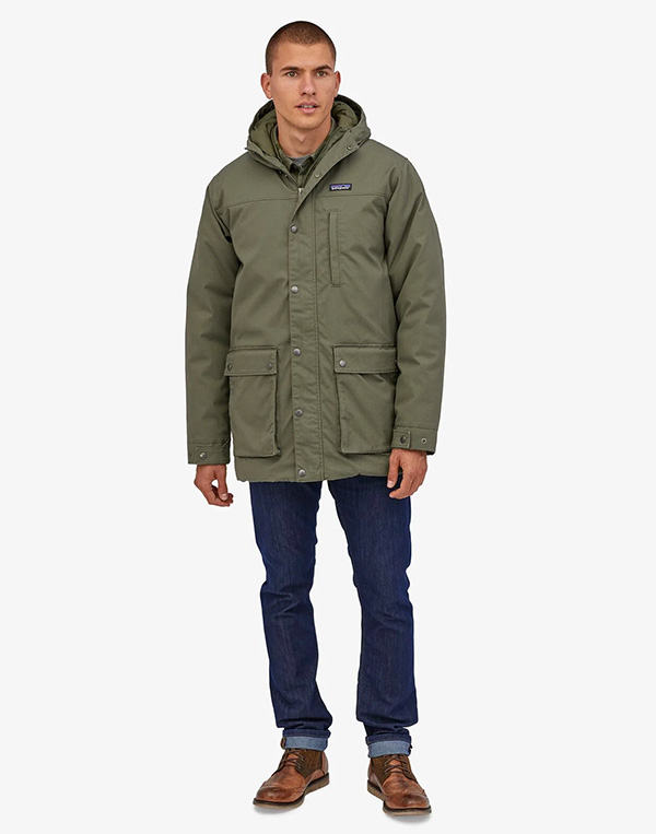 green patagonia winter jacket
