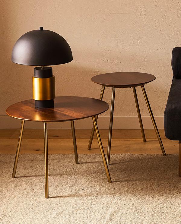 zara home living room tables