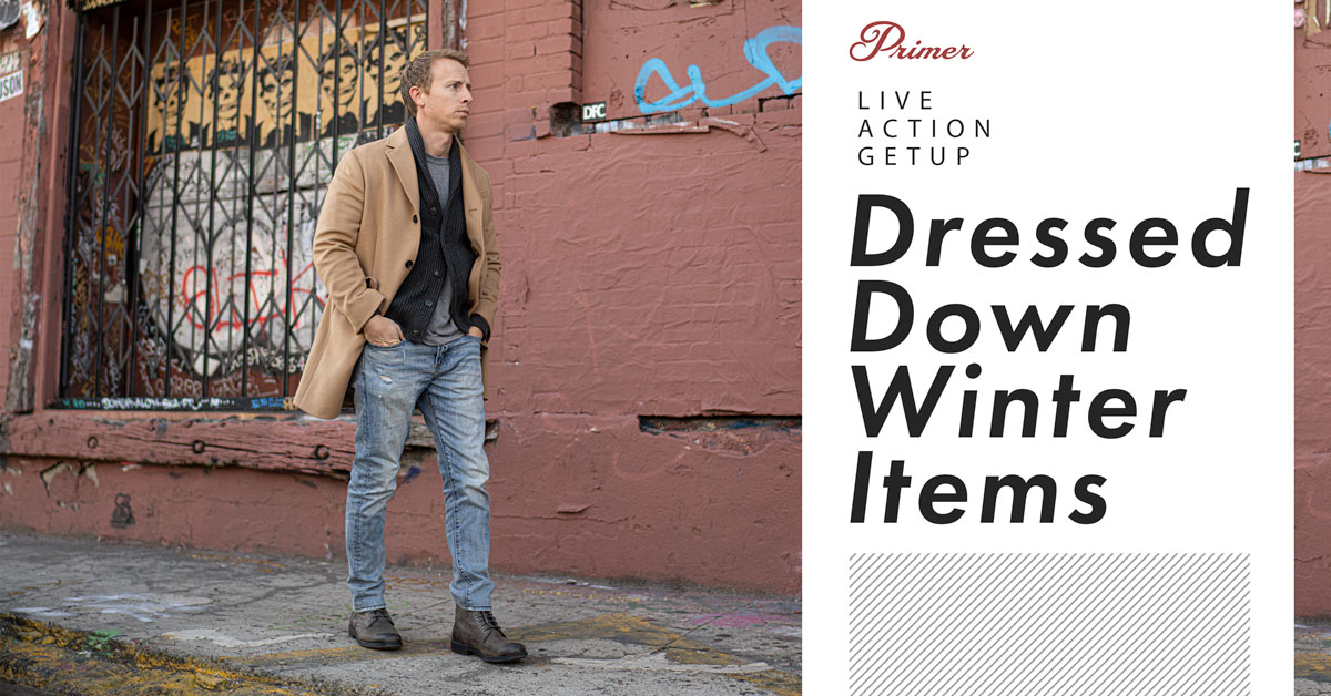 Live Action Getup: Dressed Down Winter Items