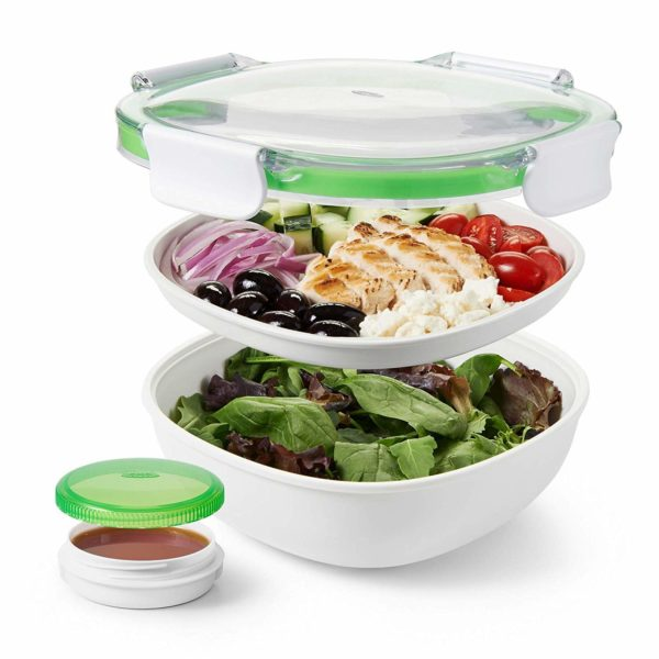 OXO salad container grown up lunch box