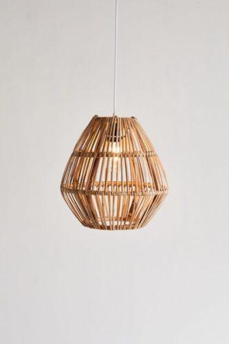 bamboo pendant light home decor