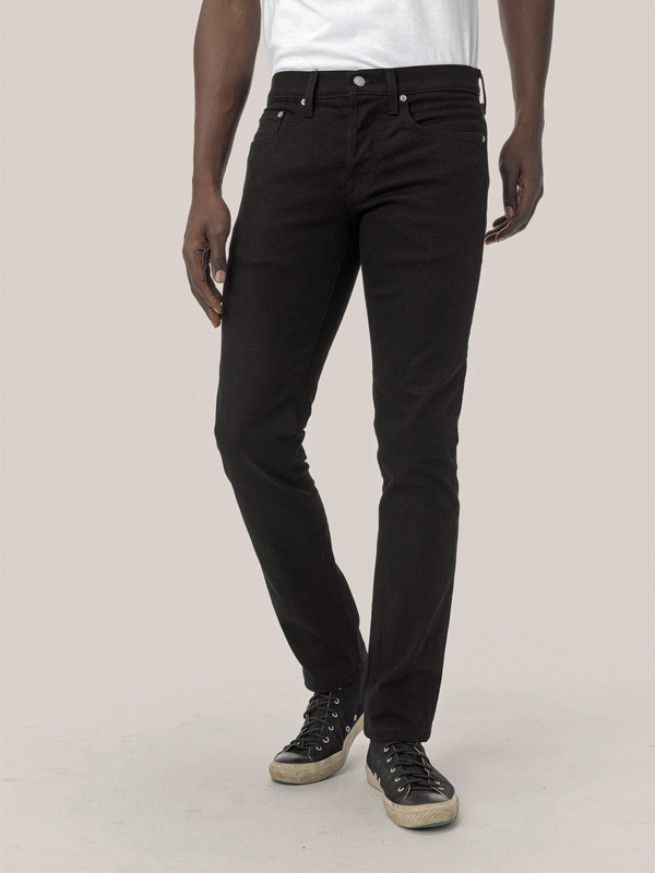 black slim jean buck mason sale