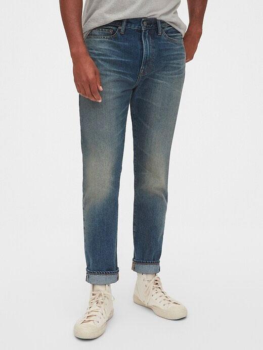 gap taper jeans