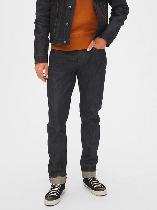 gap-selvedge-slim-jeans