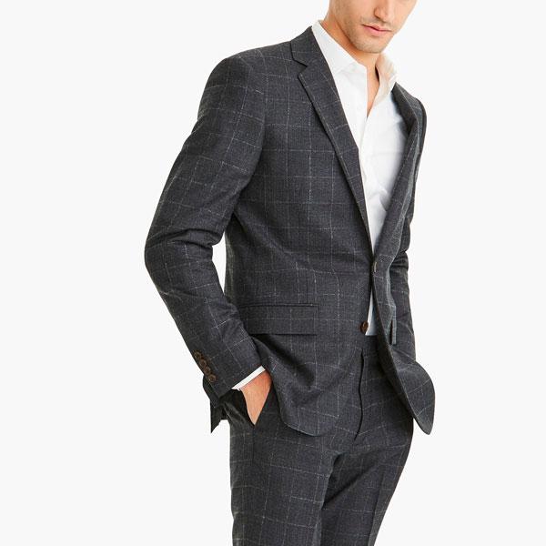 jcrew thompson windowpane suit jacket