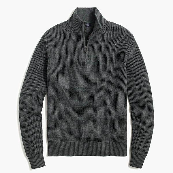 waffle sweater