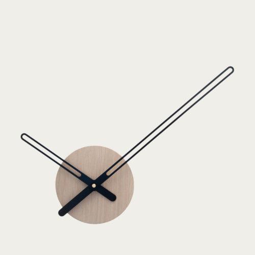 oak wood sweep wall clock home decor
