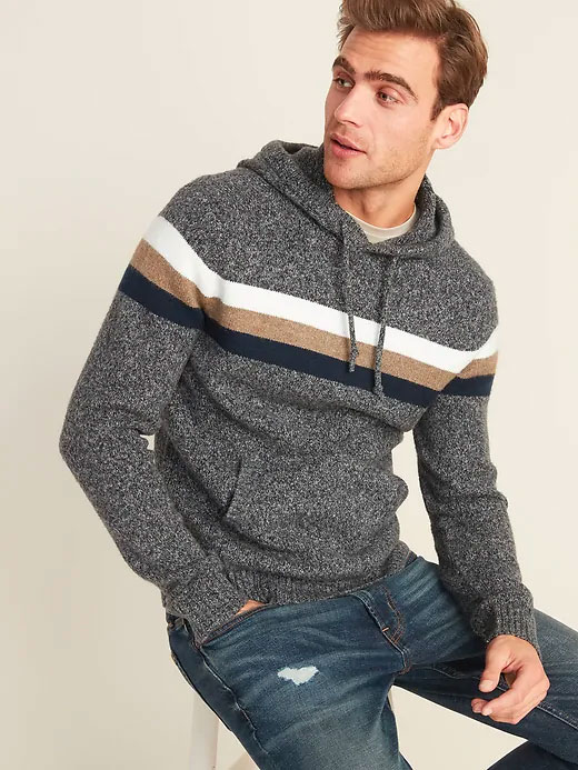 old navy sweater hoodie
