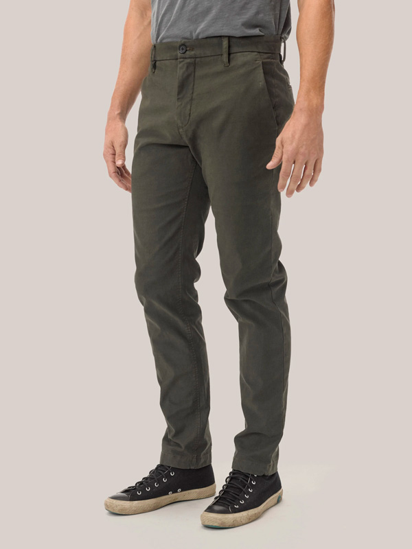olive broken twill trouser buck mason sale